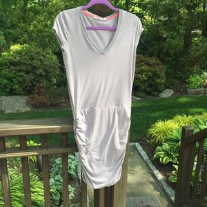 Athleta Dress with side Ruching
